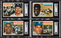 1956 Topps Baseball Complete Set (340) Plus Checklists (2)