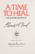 Books:Signed Editions, Gerald Ford Signed Special Edition of A Time to Heal. ...