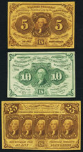 Fractional Currency:First Issue, Fr. 1230 5¢ First Issue Very Fine-Extremely Fine;...
