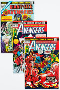 Bronze Age (1970-1979):Superhero, The Avengers Group of 16 (Marvel, 1971-75) Condition: Average VF/NM.... (Total: 16 Comic Books)