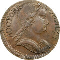 Colonials, 1785 CONNCT Connecticut, Mailed Bust Right, M. 6.5-M, W-2430, High R.6, MS62 Brown NGC. 145.5 grains. With just over a doze...