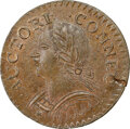 Colonials, 1787 Connecticut, Laughing Head, M. 6.1-M, W-2820, R.1, MS64★ Brown NGC. The two Laughing Head varieties, Mill...