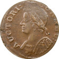 Colonials, 1786 COPPER Connecticut, Mailed Bust Left, M. 5.8-F, W-2620, High R.4, MS61 Brown NGC. 137.4 grains. Although the upp...