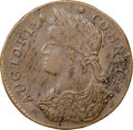 Colonials, 1787 Connecticut, Draped Bust Left, M. 33.12-Z.16, W-3535, R.5, MS61 Brown NGC. 128.0 grains. Obverse die 33.12 is known wit...