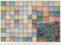William T. Wiley (b. 1937) The Naked Anvil, 2001 14 archival digital prints in colors on wove paper<