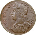 Colonials, 1787 COPPER Connecticut, Draped Bust Left, M. 48-g.5, W-4315, R.5, MS64 Brown NGC. 145.1 grains. Obverse die 48 is known wi...