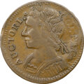 Colonials, 1788 COPPER Connecticut, Mailed Bust Left, M. 8-K, W-4495, R.7, XF40 NGC. 117.0 grains. Obverse die 8 is identified o...