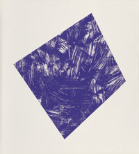 Ellsworth Kelly (1923-2015) Untitled (Purple State I), 1988 Lithograph in colors on Arches 88 paper<