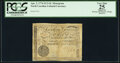 Colonial Notes:North Carolina, North Carolina April 2, 1776 $1/2 GL in White Script with Toothed Border of Radial Lines Monogram Fr. NC-156f PCGS Apparent Ve...