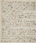 Edged Weapons, Alexander Monro (secundus) Autograph Letter Signed....