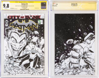 Arthur Adams Batman #75 Sketch Cover Variant Original Art (DC, 2019) CGC Signature Series NM/MT 9.8 White pages