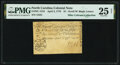 Colonial Notes:North Carolina, North Carolina April 2, 1776 $1 Scroll with Black Letters Fr. NC-157d PMG Very Fine 25 Net.. ...