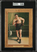 Boxing Cards:General, 1910-11 T9 Turkey Red Stanley Ketchel (Checklist Back) #67 SGC Good+ 2.5....
