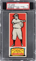 Baseball Cards:Singles (1950-1959), 1951 Topps Connie Mack All-Time All-Stars Lou Gehrig PSA EX 5....