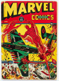 Golden Age (1938-1955):Superhero, Marvel Mystery Comics #44 (Timely, 1943) Condition: GD+....