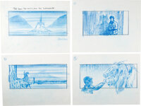 The Chronicles of Narnia: The Lion, The Witch and the Wardrobe Storyboards Origin