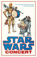 Movie Posters:Science Fiction, Star Wars Concert (20th Century Fox, 1978). Rolled, Near M...