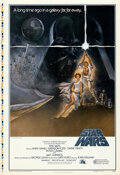"""Movie Posters:Science Fiction, Star Wars (20th Century Fox, 1977). Rolled, Very Fine+. First Printing Printer's Proof One Sheet (28"""" X 41"""") Style A, Tom Ju..."""