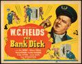 Movie Posters:Comedy, The Bank Dick (Universal, 1940). Folded, Very Fine-.