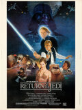 Movie Posters:Science Fiction, Return of the Jedi (20th Century Fox, 1983). Rolled, Very ...