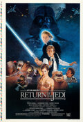 """Movie Posters:Science Fiction, Return of the Jedi (20th Century Fox, 1983). Rolled, Very Fine. Printer's Proof One Sheet (28"""" X 41"""") Style B, Kazuhi..."""