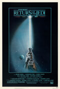 Movie Posters:Science Fiction, Return of the Jedi (20th Century Fox, 1983). Very Fine on ...
