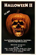 "Movie Posters:Horror, Halloween II (Universal, 1981). Very Fine+ on Linen. One Sheet (27"" X 41"").. ..."