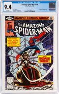 Modern Age (1980-Present):Superhero, The Amazing Spider-Man #210 (Marvel, 1980) CGC NM 9.4 White pages....