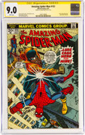 Bronze Age (1970-1979):Superhero, The Amazing Spider-Man #123 Signature Series (Marvel, 1973) CGC VF/NM 9.0 White pages....