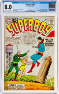 Silver Age (1956-1969):Superhero, Superboy #100 (DC, 1962) CGC VF 8.0 Off-white to white pages....