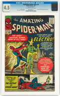 Silver Age (1956-1969):Superhero, The Amazing Spider-Man #9 (Marvel, 1964) CGC VG+ 4.5 Off-white to white pages....