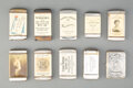 Collectible, A Group of Ten American Metal Advertising Match Safes, late 19th-early 20th century . 2-3/4 inches (7.0 cm) (longest). PRO... (Total: 10 Items)