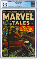 Golden Age (1938-1955):Horror, Marvel Tales #110 (Atlas, 1952) CGC FN 6.0 Off-white to white pages....