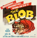 Movie Posters:Science Fiction, The Blob (Paramount, 1958). Very Fine+ on Linen. S...