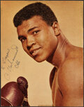 Autographs:Photos, Muhammad Ali Signed Picture....