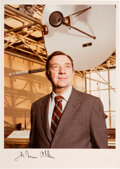 Explorers:Space Exploration, James A. Van Allen Signed Color Photo. ...