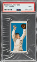 Baseball Cards:Singles (Pre-1930), 1909-11 T206 Piedmont 350 Otto Knabe PSA Mint 9 - Pop One, None Higher With This Brand & Series. ...