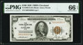 Fr. 1890-D $100 1929 Federal Reserve Bank Note. PMG Gem Uncirculated 66 EPQ