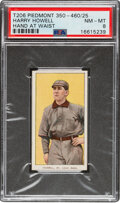 Baseball Cards:Singles (Pre-1930), 1909-11 T206 Piedmont 350-460/25 Harry Howell (Hand At Waist) PSA NM-MT 8 - Pop One, None Higher With This Brand/Series/Factor...