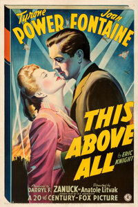 """This Above All (20th Century Fox, 1942). Very Fine- on Linen. One Sheet (27"""" X 41"""") Style A"""
