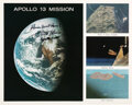 Explorers:Space Exploration, Fred Haise Signed Apollo 13 Mission Composite Color Photo....