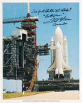 Explorers:Space Exploration, Fred Haise Signed Space Shuttle Enterprise