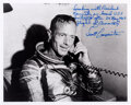Explorers:Space Exploration, Scott Carpenter Signed Photo on Phone with JFK, with Handw...