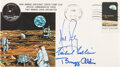 """Explorers:Space Exploration, Apollo 11 Crew-Signed """"Type One"""" Insurance Cover with MSCSC Cachet. ..."""