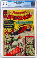 Silver Age (1956-1969):Superhero, The Amazing Spider-Man #14 (Marvel, 1964) CGC GD+ 2.5 Cream to off-white pages....