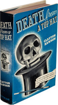 Books:Mystery & Detective Fiction, Clayton Rawson. Death from a Top Hat. A Merlini Mystery. Illustrated. New York: G. P. Putnam's Sons, 1938. First...