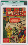 Silver Age (1956-1969):Superhero, The Avengers #1 (Marvel, 1963) CGC Qualified GD/VG 3.0 Off-white to white pages....