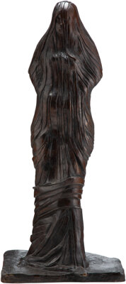 Leonard Baskin (American, 1922-2000) Andromache, 1971 Bronze with dark brown patina 38 inches (96