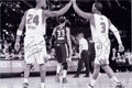 Basketball Collectibles:Photos, 2000's Kobe Bryant and Chris Paul Signed Oversized Photograph....