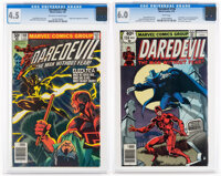 Daredevil #158 and 168 CGC-Graded Group (Marvel, 1979-80).... (Total: 2 Comic Books)